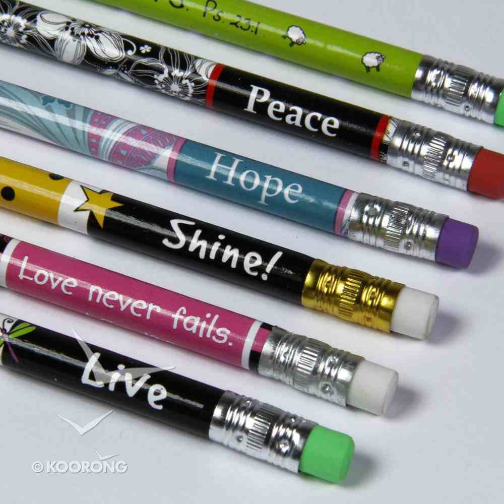 Inspirational Pencil With Eraser Stationery