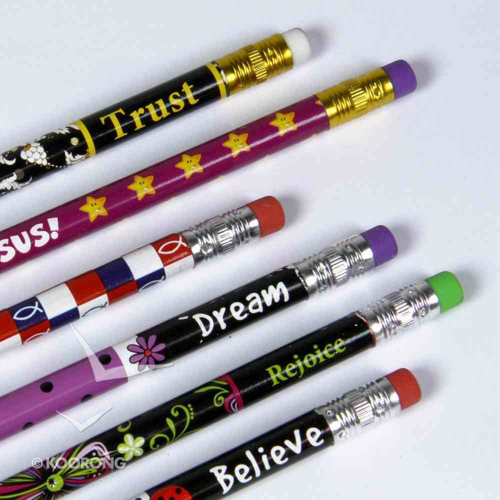 Inspirational Pencils With Eraser Stationery