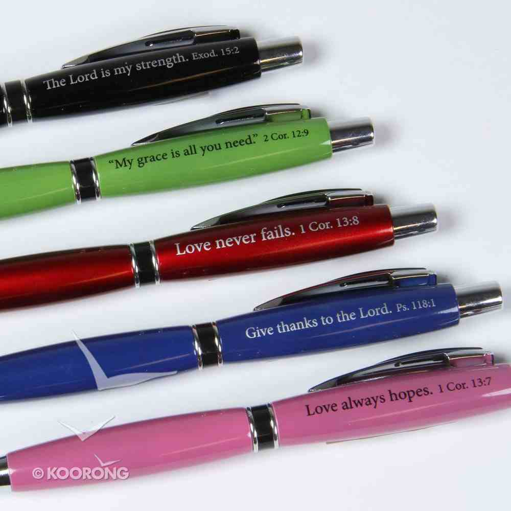Ballpoint Pen, Assorted Jolly Jotters With Scripture Stationery
