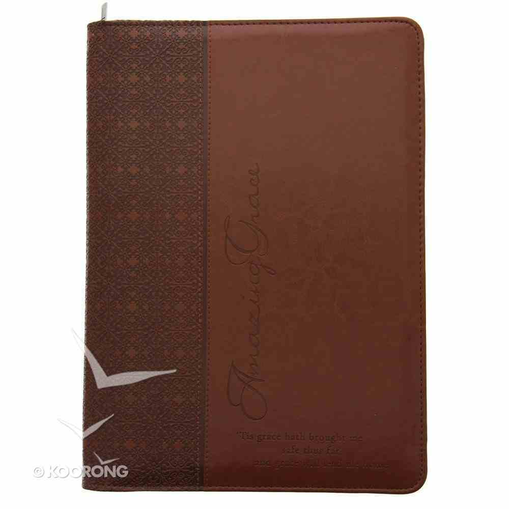 Folder: Amazing Grace Red/Tan Luxleather Imitation Leather