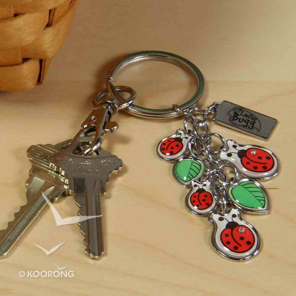 Laedee Bugg Charm Keyring: Praise the Lord Jewellery