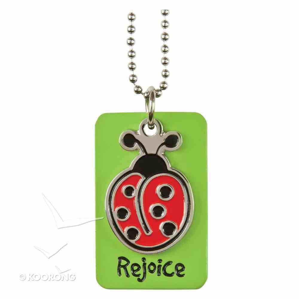 Charm Dog Tags: Rejoice Ladybug Charm Jewellery