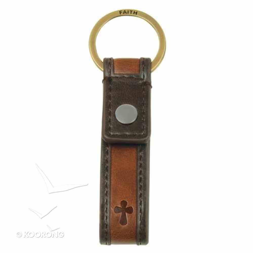 Metal Keyring: Cross Faith Jewellery