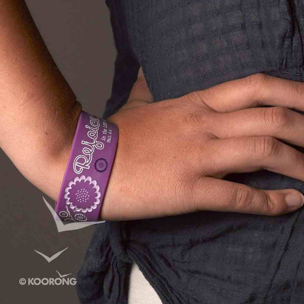 Silicon Wristband: Rejoice Jewellery