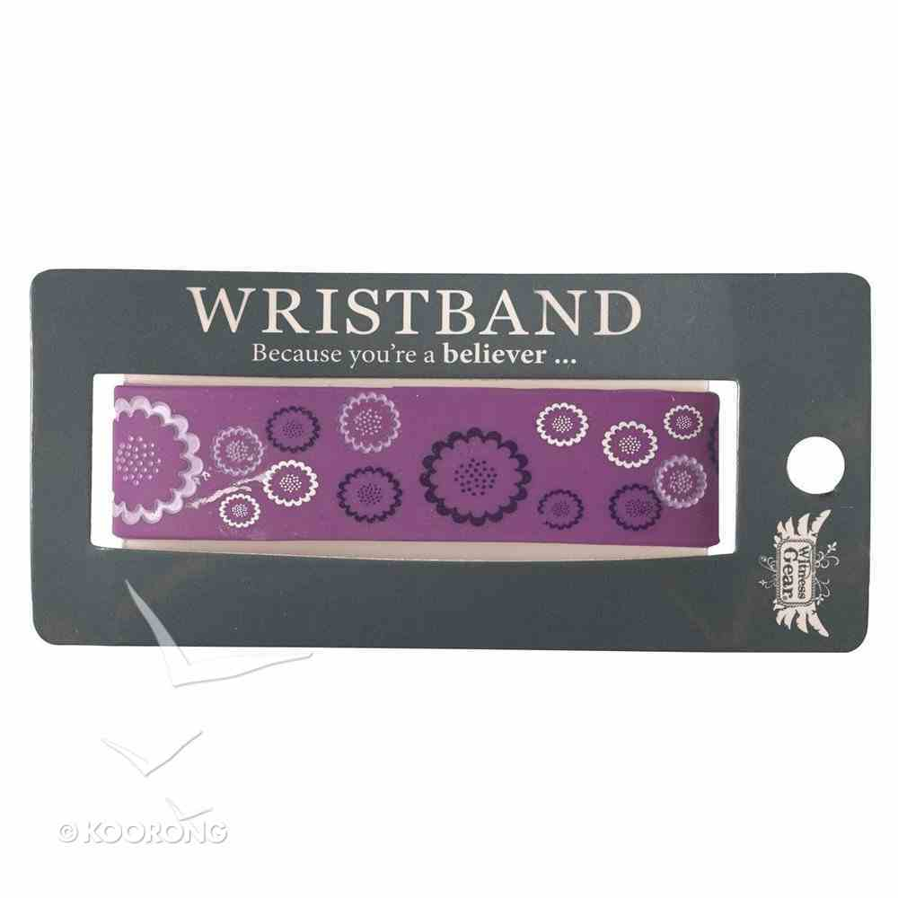 Silicon Wristband: Rejoice Jewellery