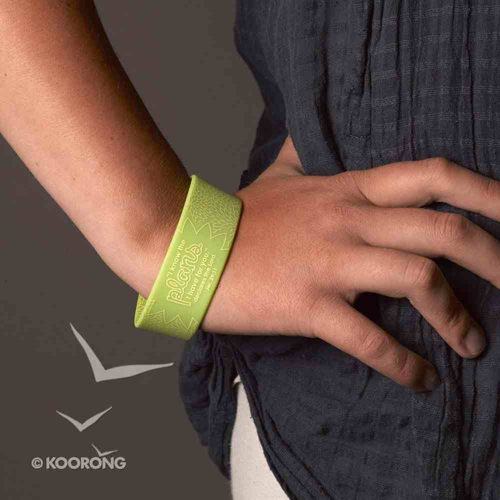 Silicon Wristband: I Know the Plans I Have For You Jewellery