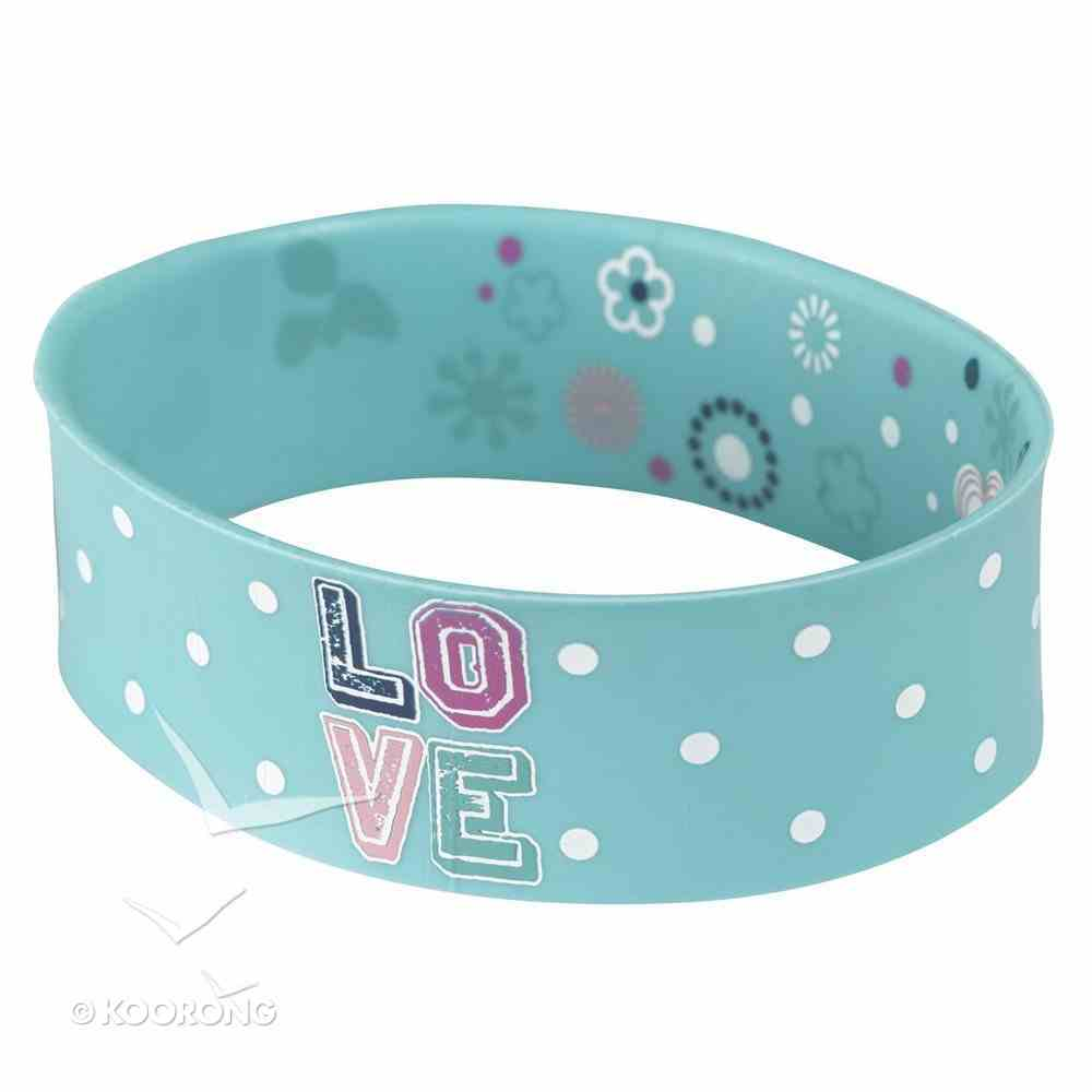Silicon Wristband: Love Jewellery