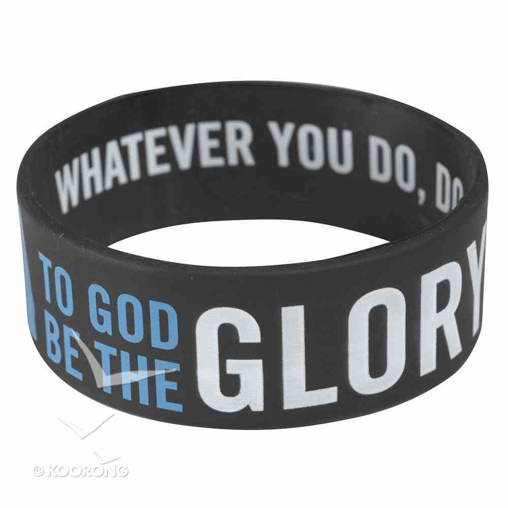 Silicon Wristband: To God Be the Glory Jewellery