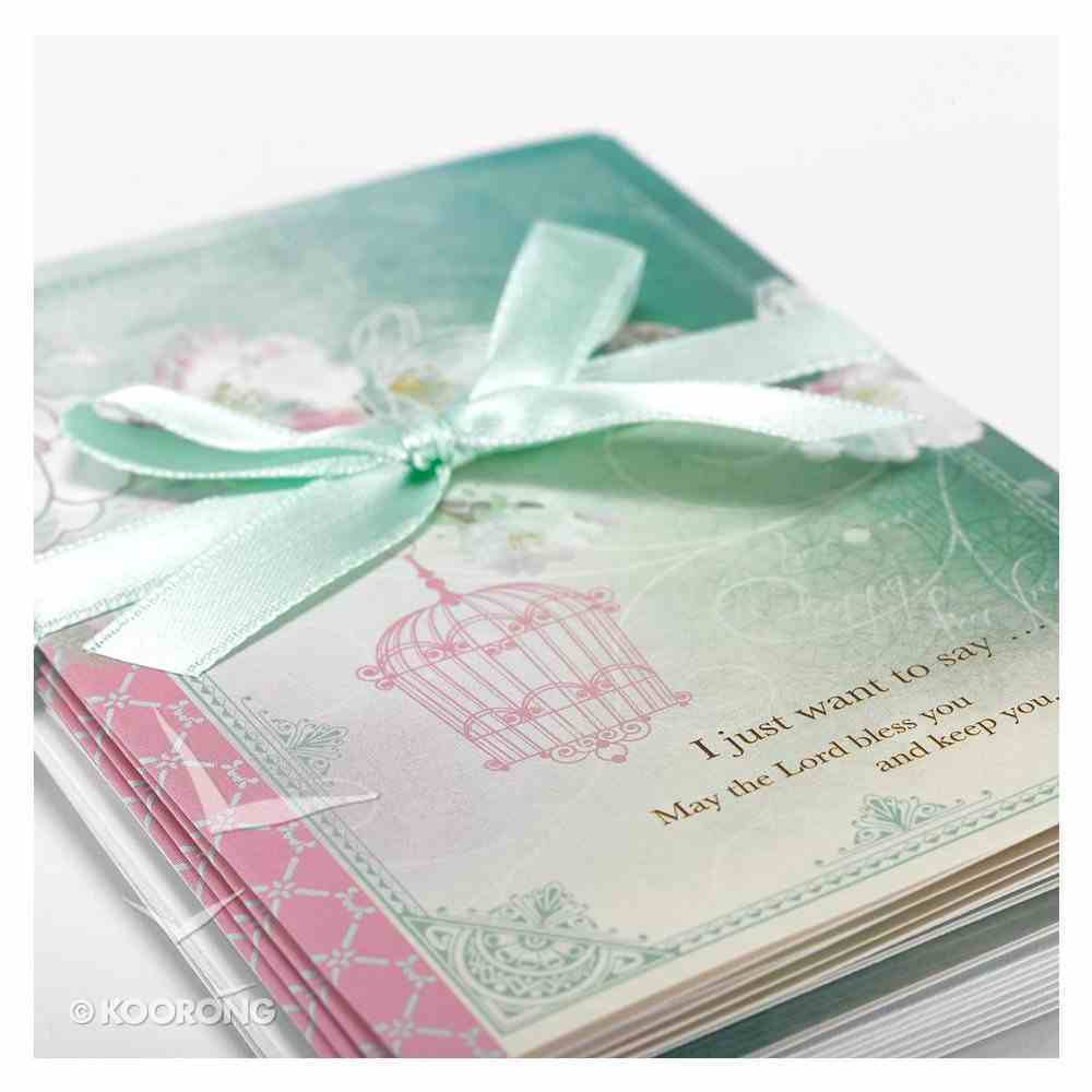 Boxed Cards: Precious and Loved Pink/Blue Bird (8 Cards/envelopes) Box