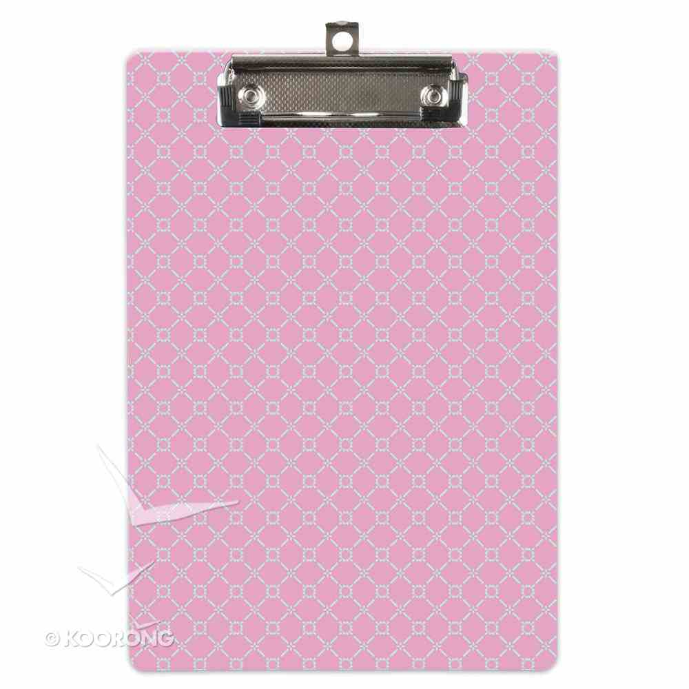 Clipboard With Notepad: You Are Precious to God, 80 Sheets Stationery