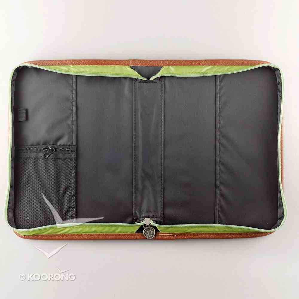 Bible Cover Classic Quilted: Green Large Bible Cover