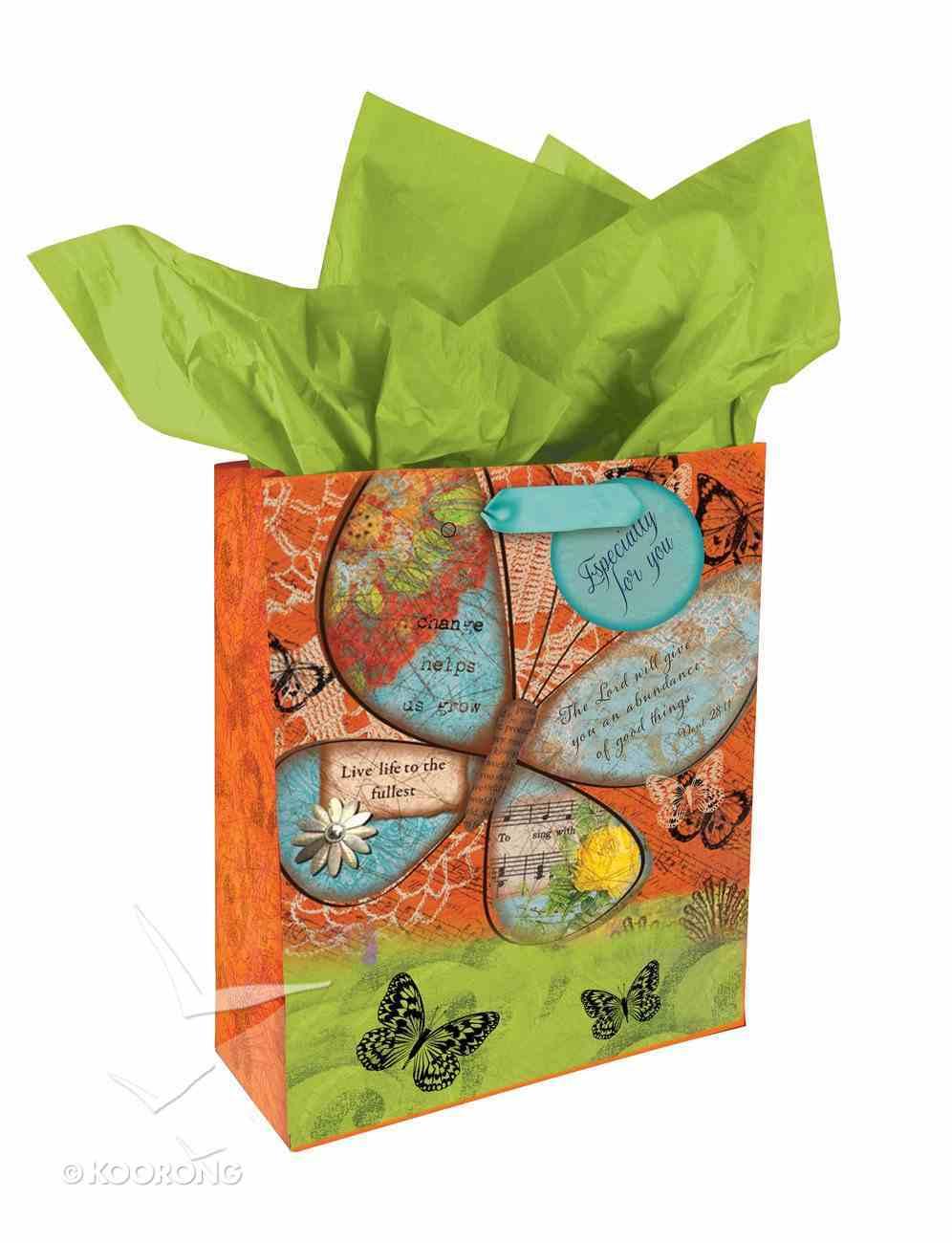 Gift Bag Medium: Butterfly Stationery