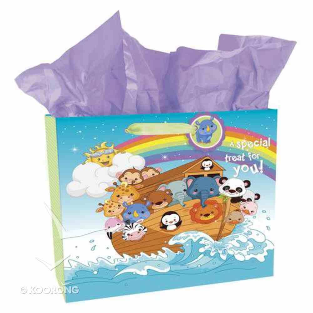 Gift Bag Large: Animal Ark Landscape (Incl Tissue) Stationery