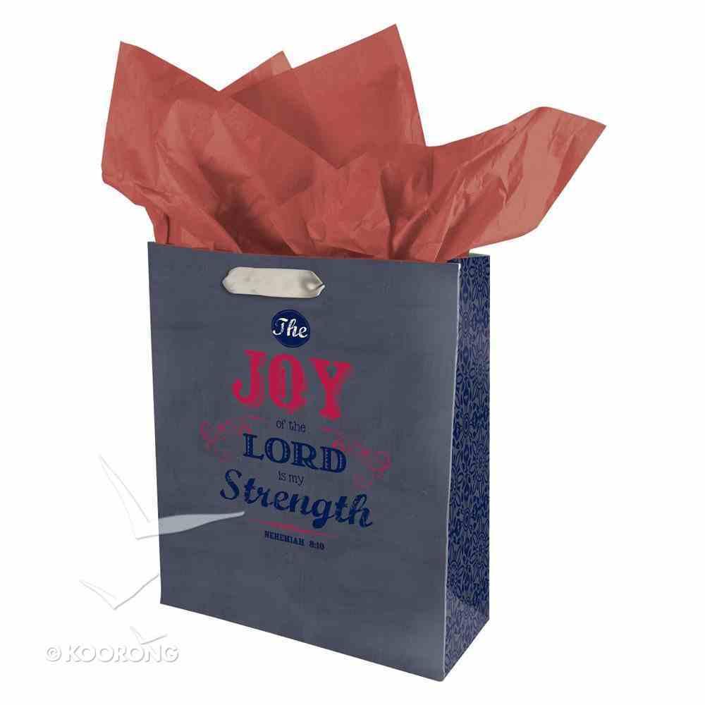 Gift Bag Medium: Joy (Incl Tissue) Stationery
