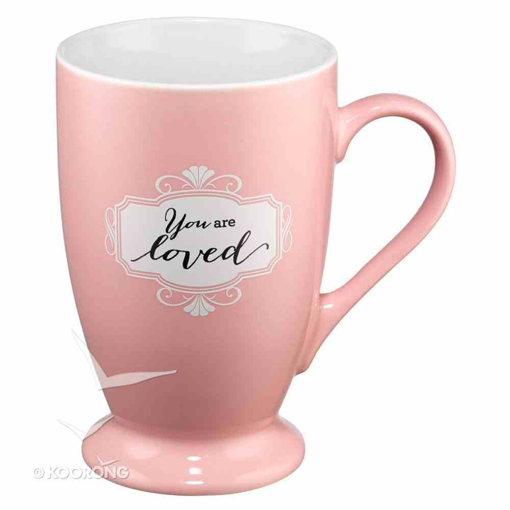 Ceramic Mug: You Are Loved, Pink (Psalm 118:29) Homeware