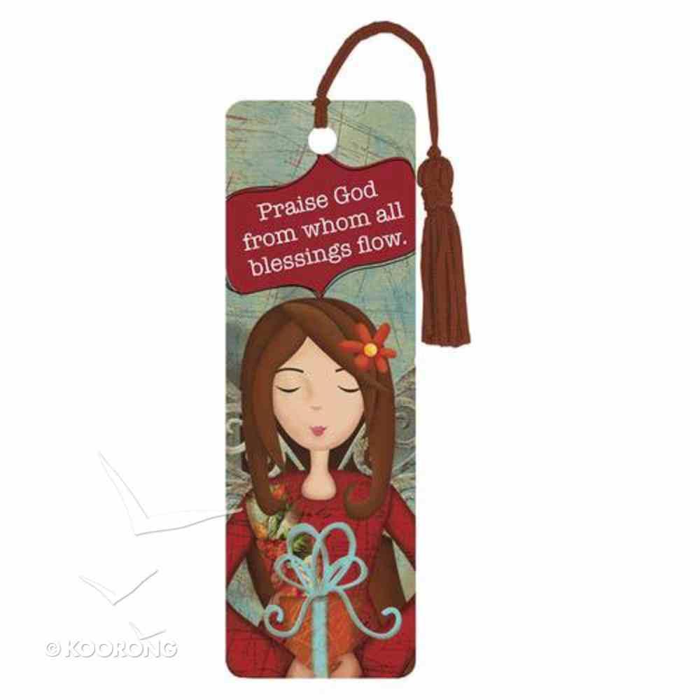 Bookmark With Tassel: Praise God Stationery