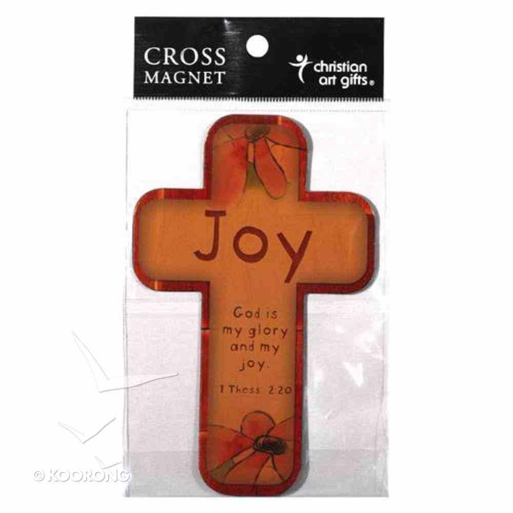 Cross Magnet: Joy Novelty