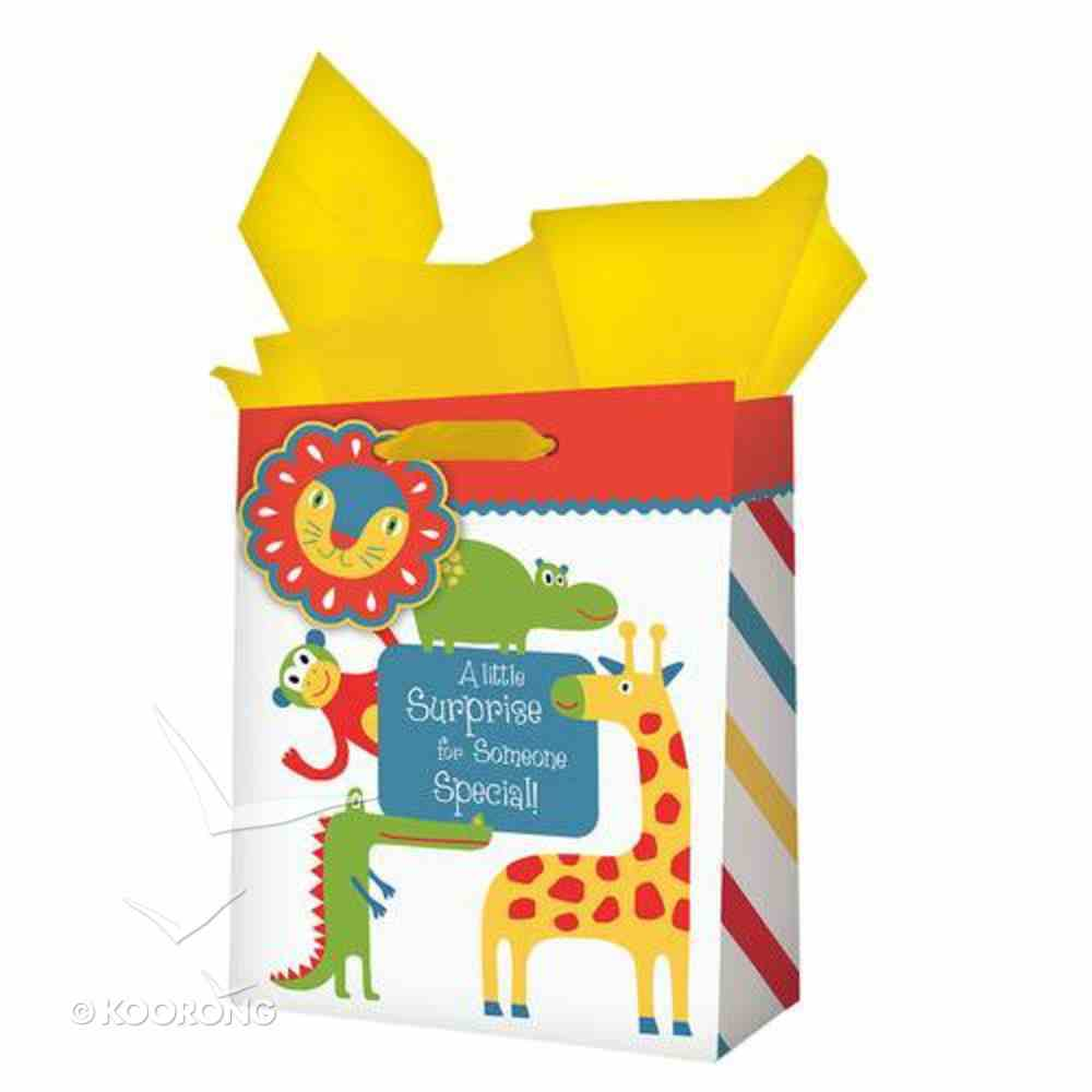 Gift Bag Medium: Animals Little Suprise Stationery