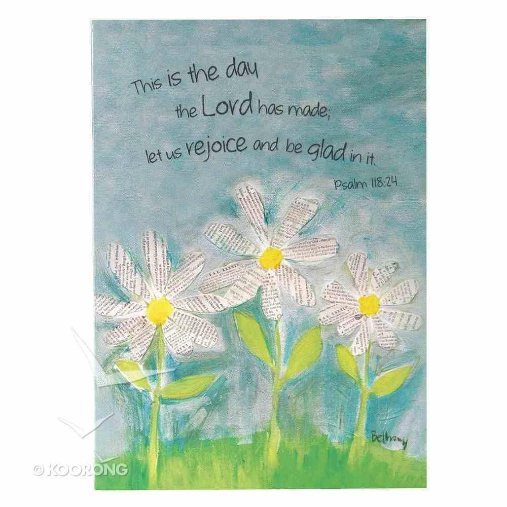 Boxed Cards: This is the Day... Blue/White Daisies (8 Cards/envelopes) Box