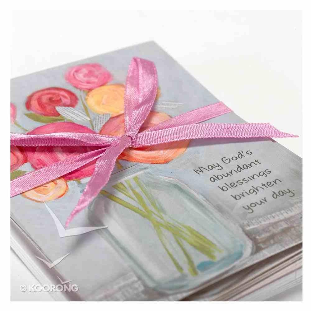 Petals of Praise Boxed Cards: May God's Abundant Blessing... Box