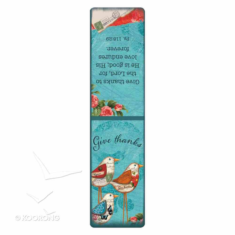 Bookmark Magnetic Large: Give Thanks Stationery