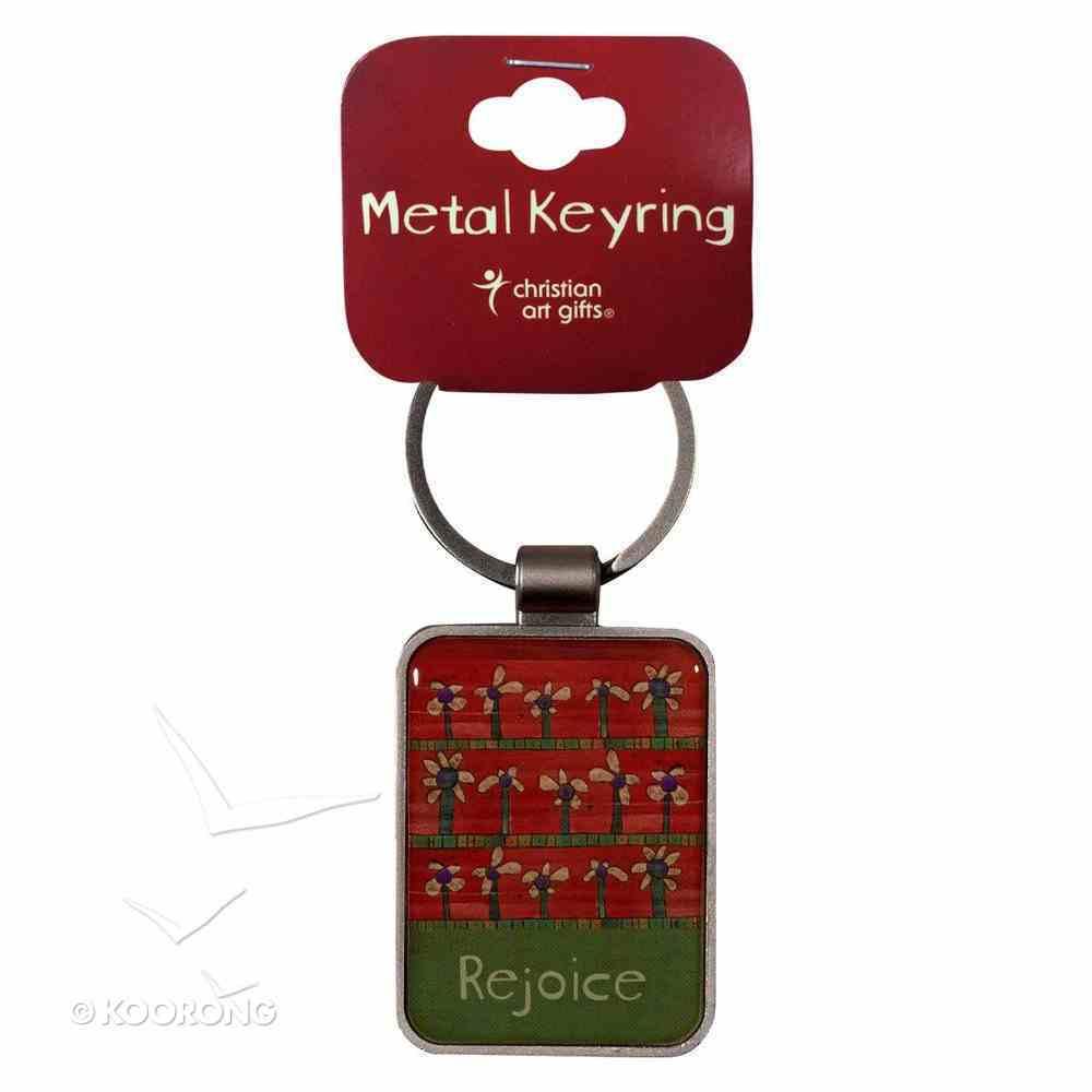 Metal Keyring: Rejoice Jewellery
