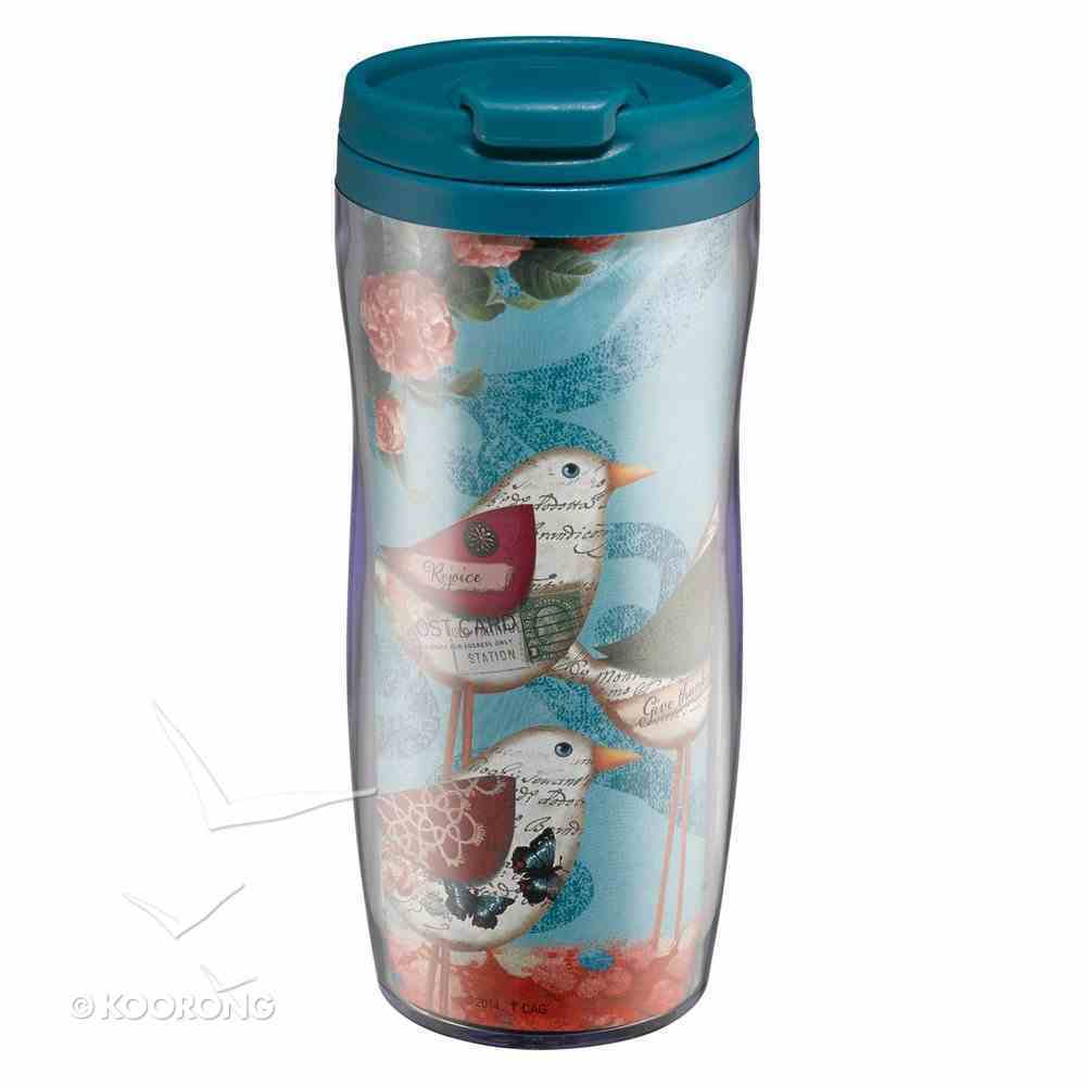 Polymer 360ml Mug Gratitude: Give Thanks Bird Homeware