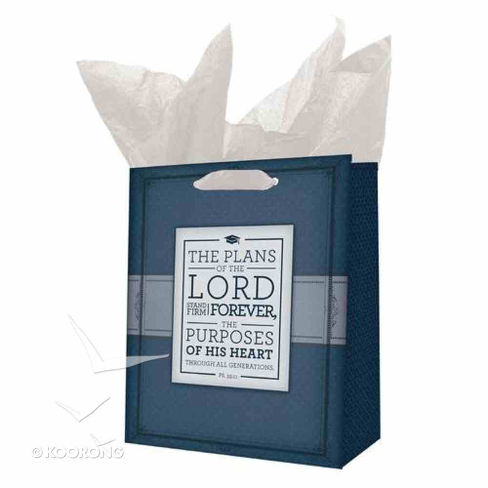 Gift Bag Medium: The Plans of the Lord... Stationery