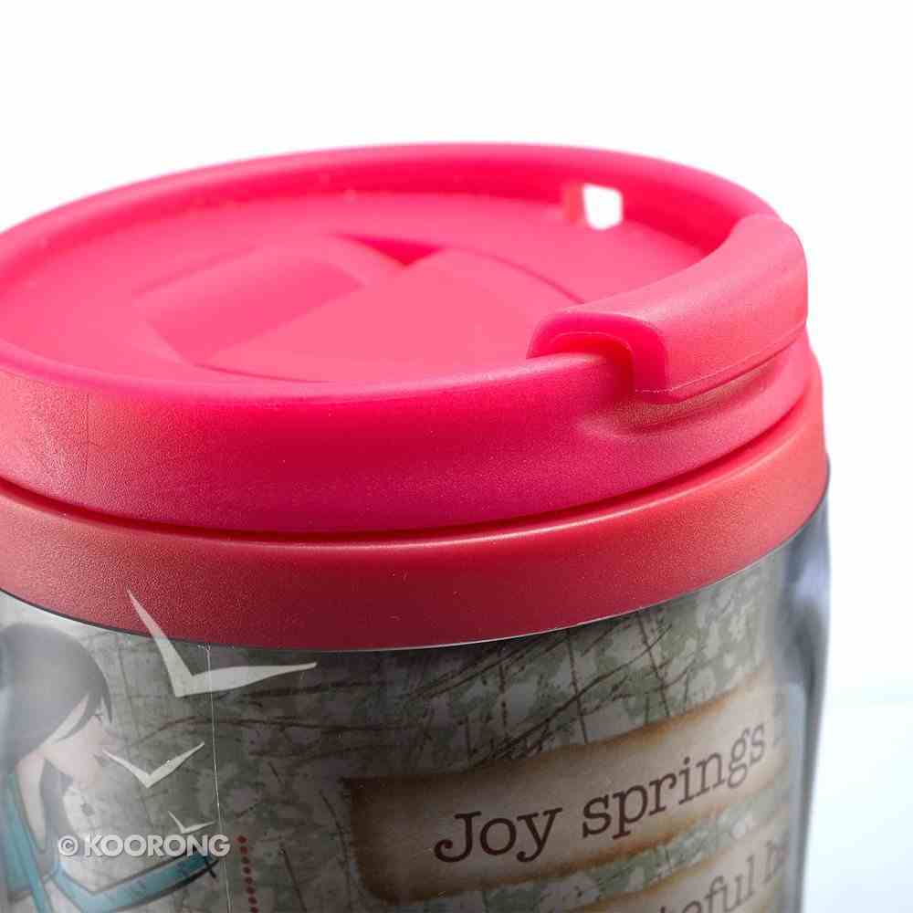 Polymer 360ml Mug Gratitude: Be Kind, Pink Homeware