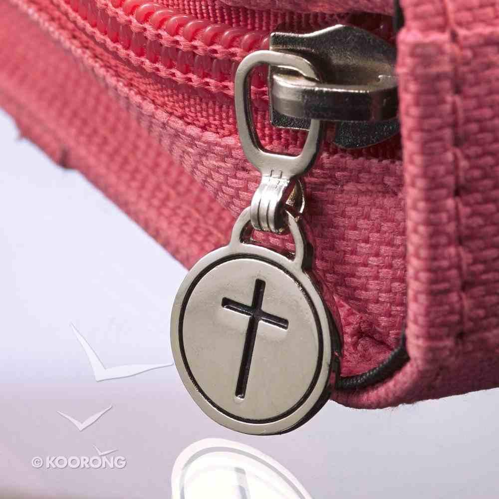 Bible Cover Fashion Micro-Fiber Medium: Floral Amazing Grace Bible Cover