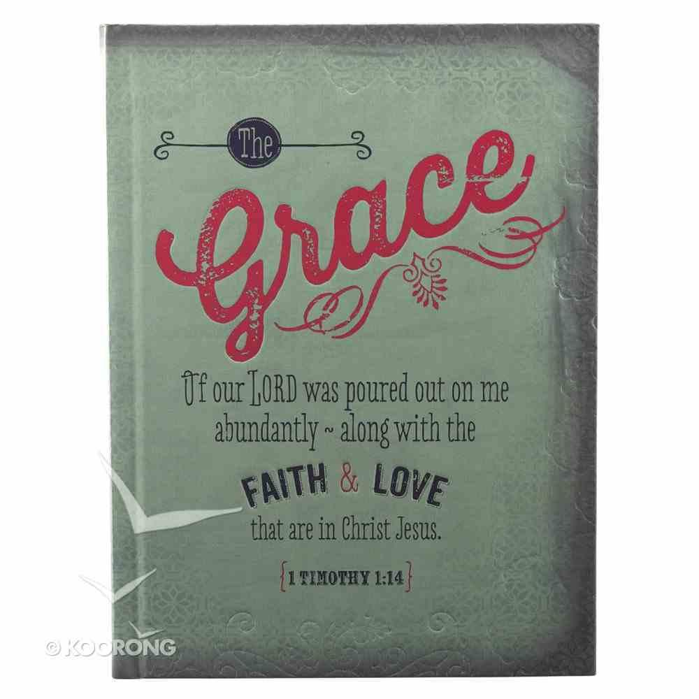 Hard Cover Large Journal Retro: Grace Green Hardback