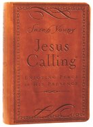 Jesus Calling Deluxe Edition Brown Imitation Leather