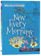 Adult Coloring Book: New Every Morning image