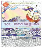 Adult Colouring Book: For I Know The Plans (Travel Size) image