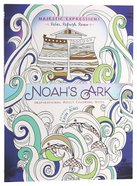Adult Coloring Book: Majestic Expressions: Noah's Ark image