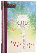 One Year Devotional: Little God Time For Teens, A image