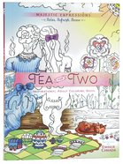 Adult Coloring Book: Majestic Expressions: Tea For Two image