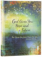 God Gives You Hope And A Future: Scripture Journal For Teens image