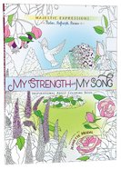 Adult Coloring Book: My Strength & My Song image