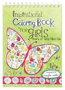 Inspirational Coloring Book For Girls Spiral