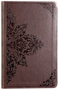 ESV Premium Gift Bible Chestnut Filigree Design Imitation Leather
