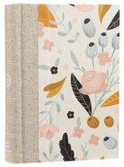 ESV Large Print Compact Bible Spring Bloom (Red Letter Edition) Hardback