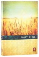 NLT Premium Value Large Print Slimline Bible (Black Letter Edition) Paperback