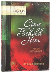 Product: Come And Behold Him Advent Devotional Image