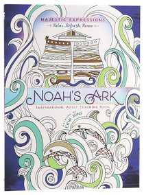 Product: Adult Coloring Book: Majestic Expressions: Noah's Ark Image