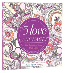 Product: Adult Coloring Book: 5 Love Languages, The (Majestic Expressions) Image