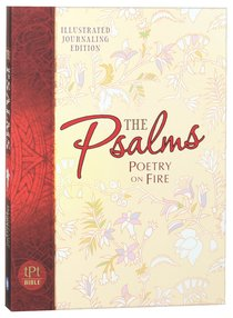 Product: Tpt Psalms: Poetry On Fire - Devotional Journal Image