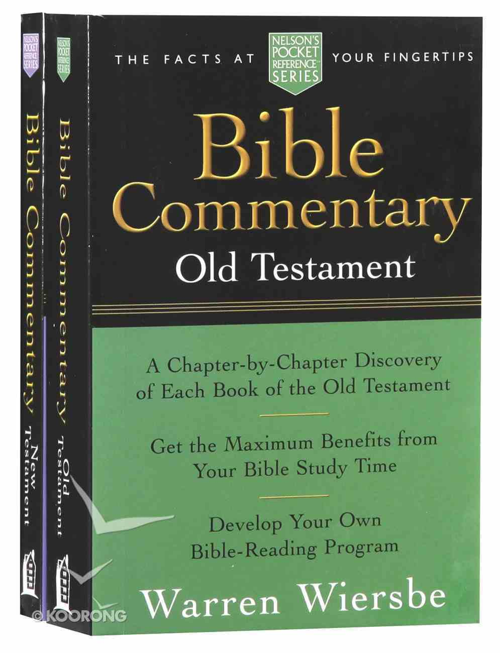 Npr: Bible Commentary Old Testament and New Testament 2-Pack (2 Vols) Pack