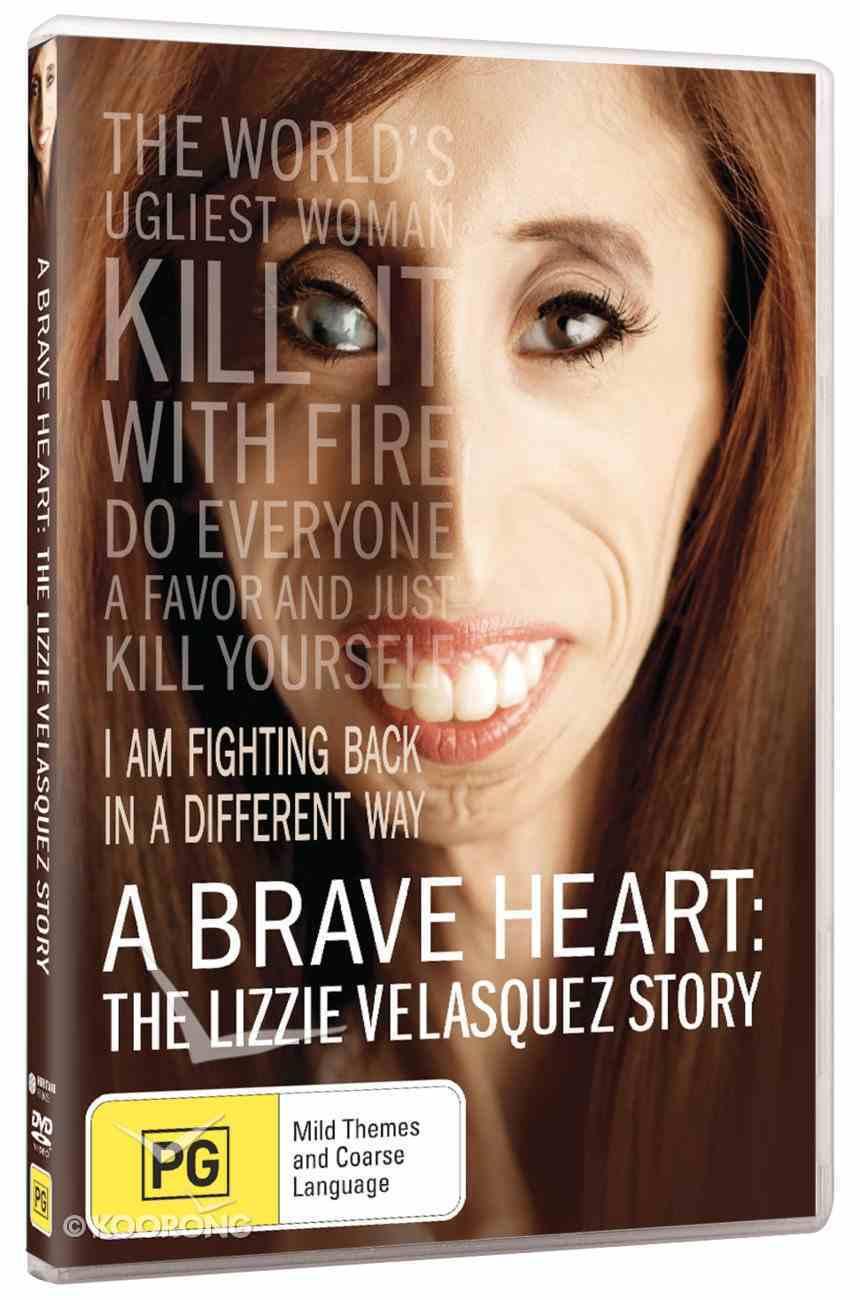 A Brave Heart: The Lizzie Velasquez Story DVD