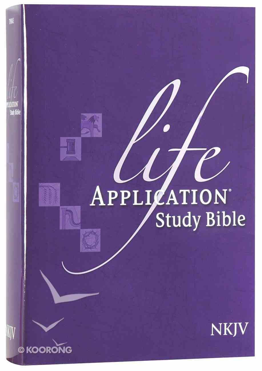 NKJV Life Application Bible (Red Letter Edition) Hardback